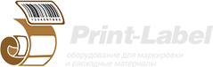 Print-Label footer logo