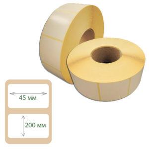 Этикетки Print-label 45х200 полуглянец