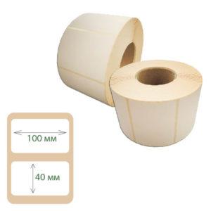 Термоэтикетки Print-label 100х40 ЭКО