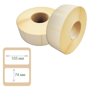 Термоэтикетки Print-label 105х74 ЭКО