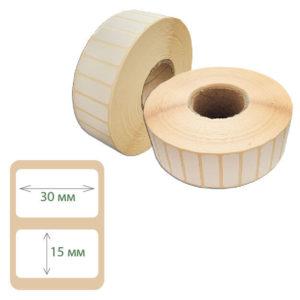 Термоэтикетки Print-label 30х15 ЭКО