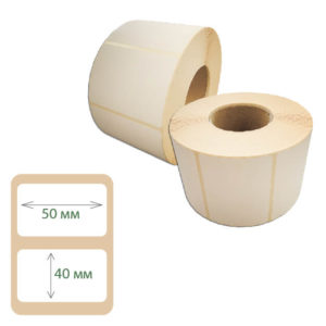 Термоэтикетки Print-label 50х40 ЭКО
