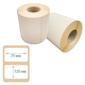 Термоэтикетки Print-label 75х120 ЭКО