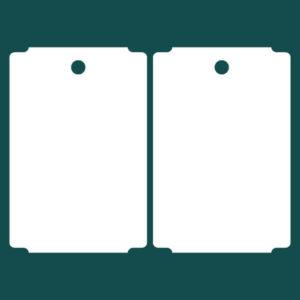 Бирка (ярлык) 34 x 50.8 картон 2
