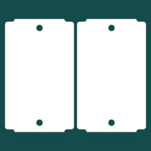 Бирка (ярлык) 50 x 82 пластиковая 2