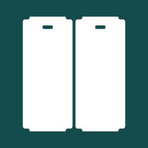 Бирка (ярлык) 55 x 127 пластиковая 2