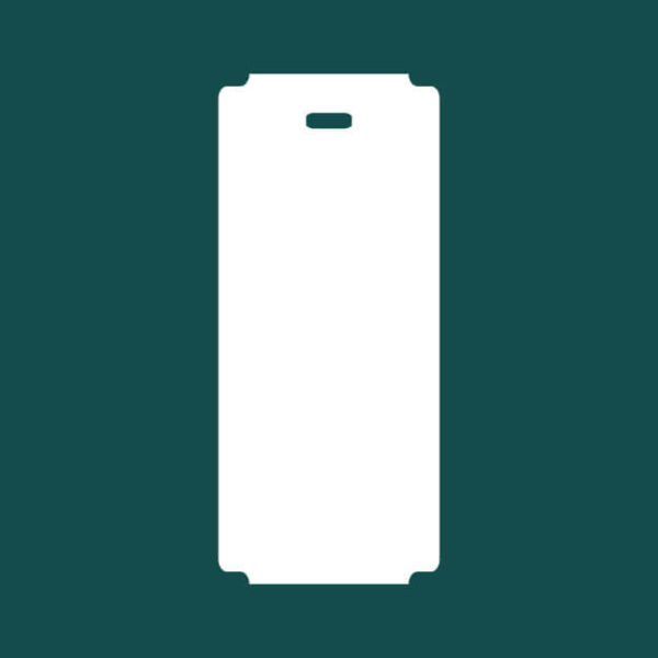 Бирка (ярлык) 55 x 127 пластиковая