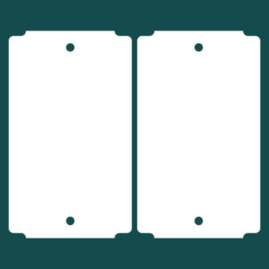Бирка (ярлык) 60 x 101 пластиковая 2