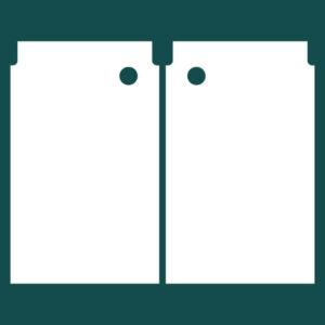 Бирка (ярлык) 70 x 43 пластиковая 2