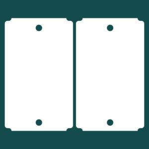 Бирка (ярлык) 92 x 152 пластиковая 2