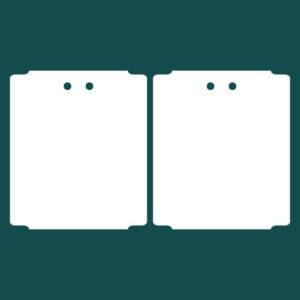 Бирка (ярлык) 95 x 110 пластиковая 2