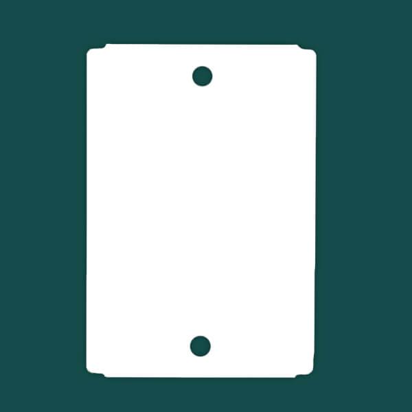 Бирка (ярлык) высокотемпературная до 230°C 92 x 133 полиэстеровая