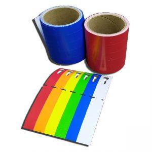 цветные бирки