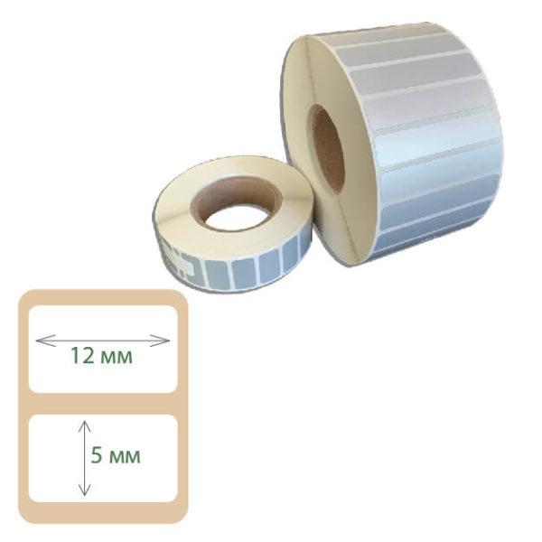 Этикетки Print-label 12х5 полиэстер