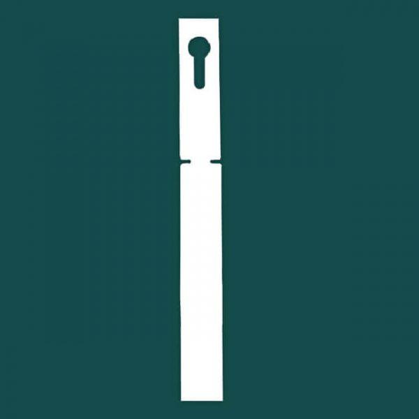 Садовая бирка петелька (ярлык) 22 х 216 Усиленный пластик