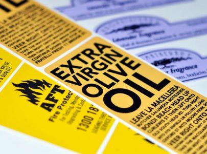 Самоклеящиеся этикетки – Виды материалов и способы печати.