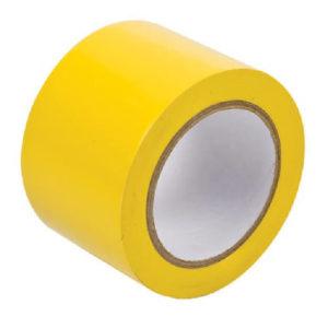 Лента напольная BRADY (желтая) 75х33 B-726 (винил) gws58250