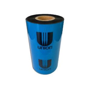 Красящая лента (риббон) Union Chemicar 80х300 Wax-Resin премиум