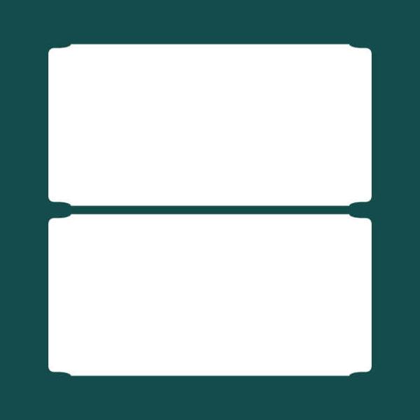 Бирка (ярлык) 100 x 50 2