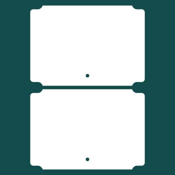Бирка (ярлык) 100 x 70 2